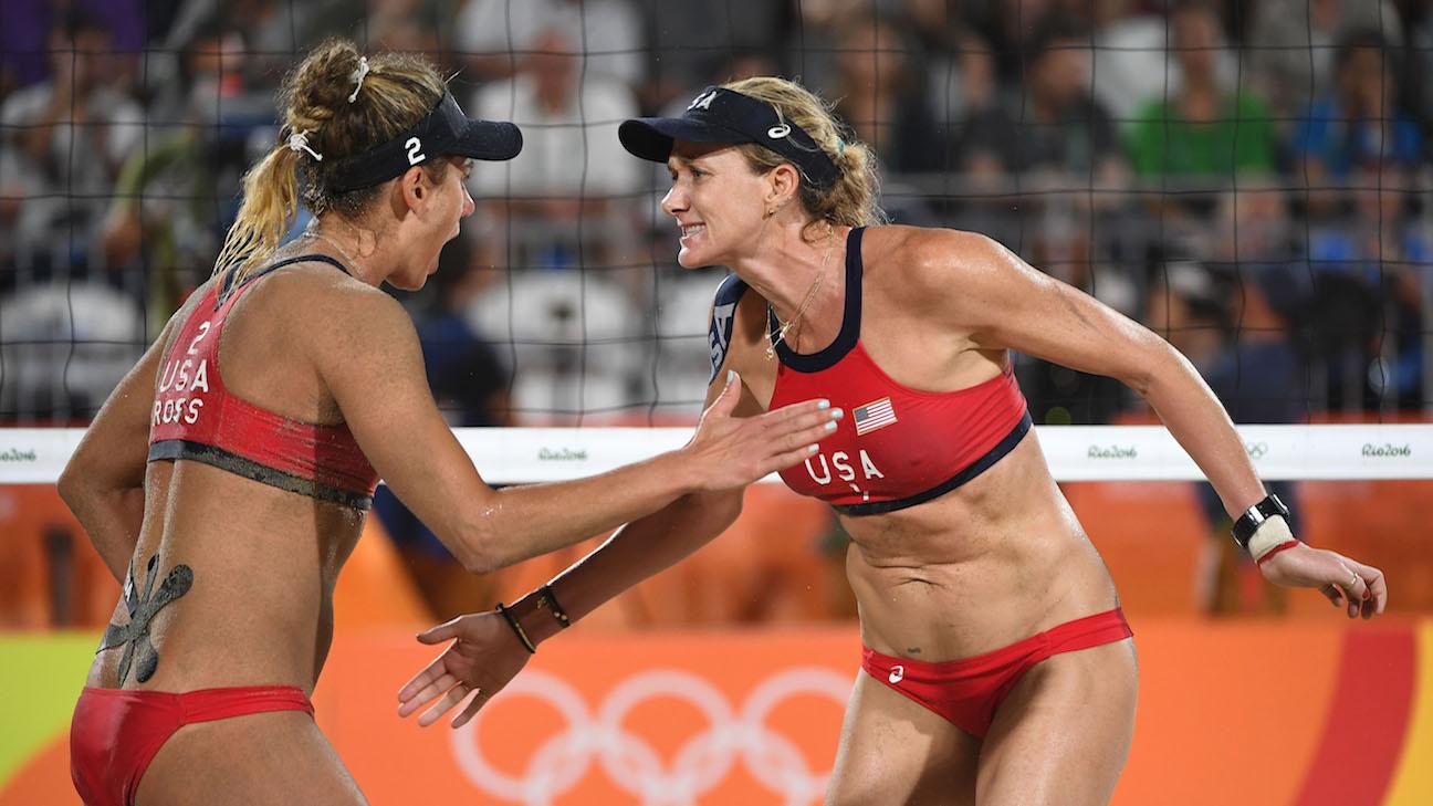 Estados Unidos gana el bronce en voley playa en Río