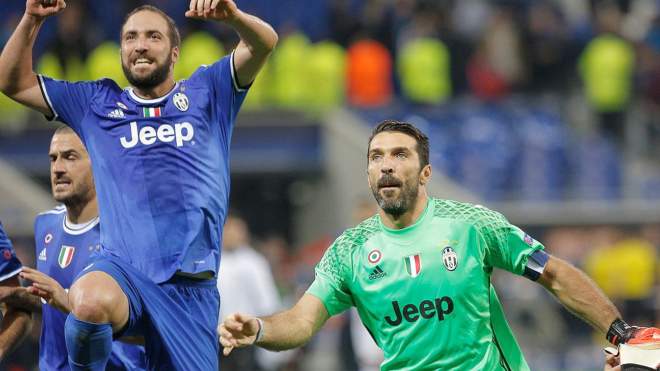 Resultado de imagen de Buffon e Higuaín