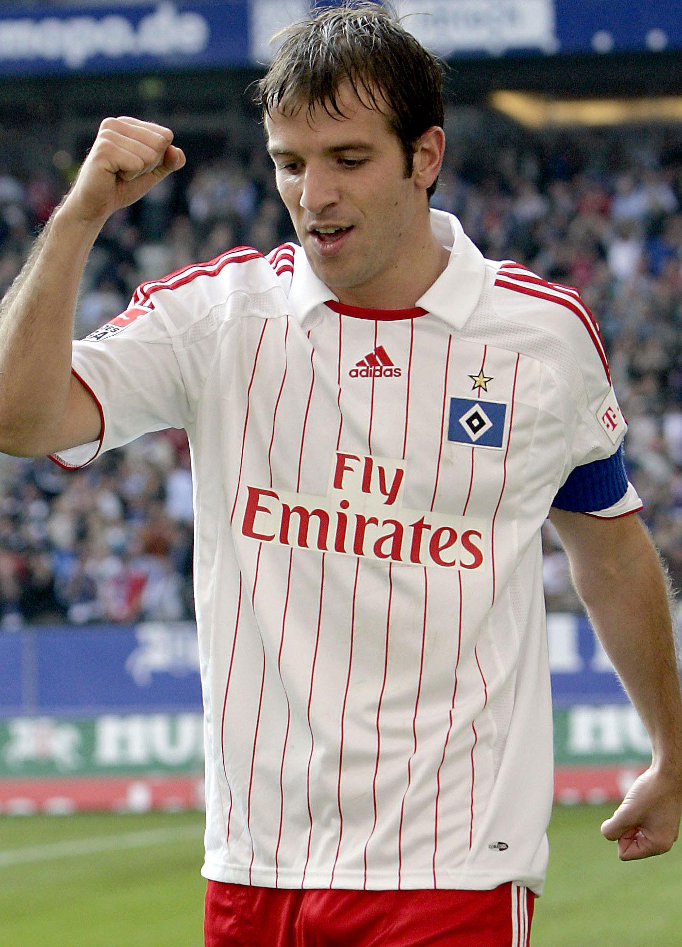 Rafael van der Vaart for Hamburger SV