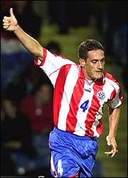 Homenaje a la Selección Paraguaya